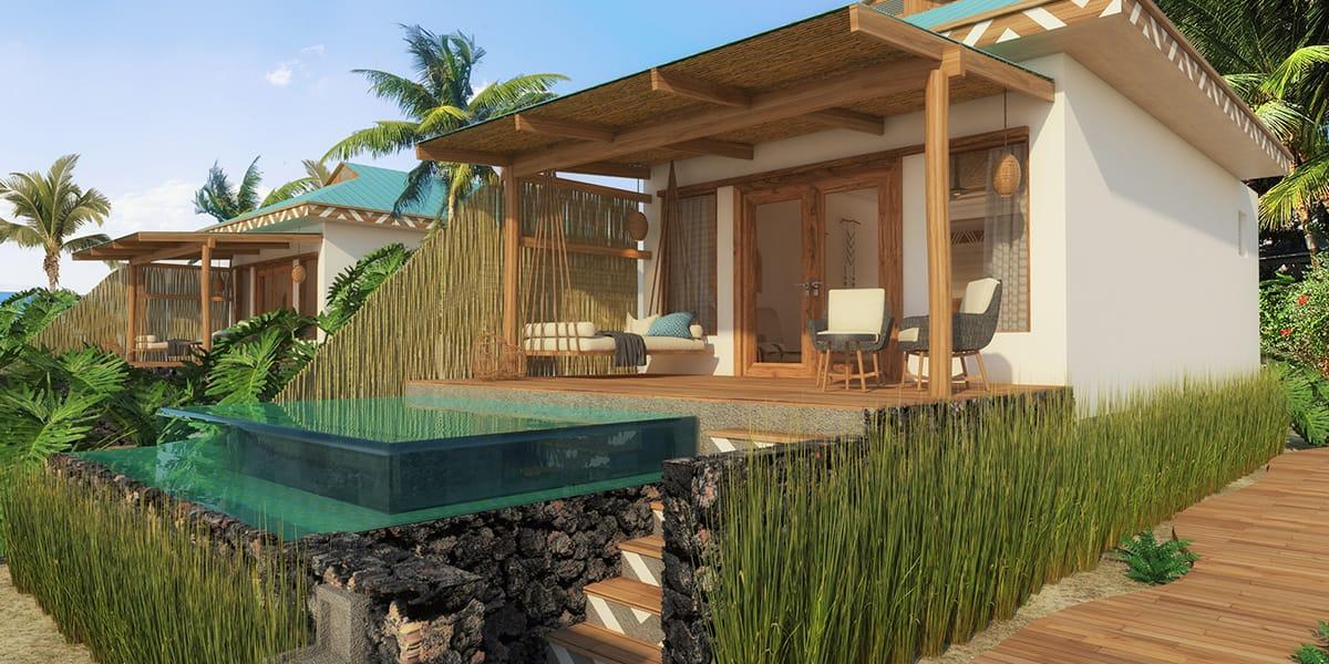 Yemaya little corn hotel with plunge pool
